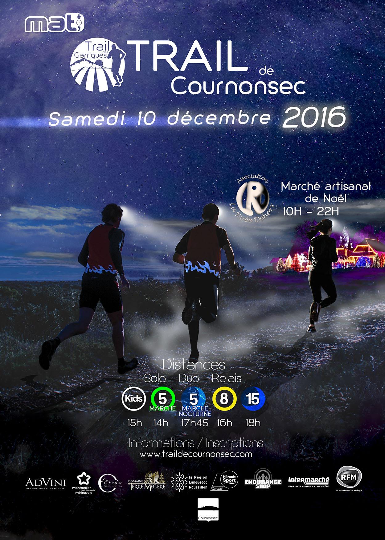 Trail de Cournonsec 2016