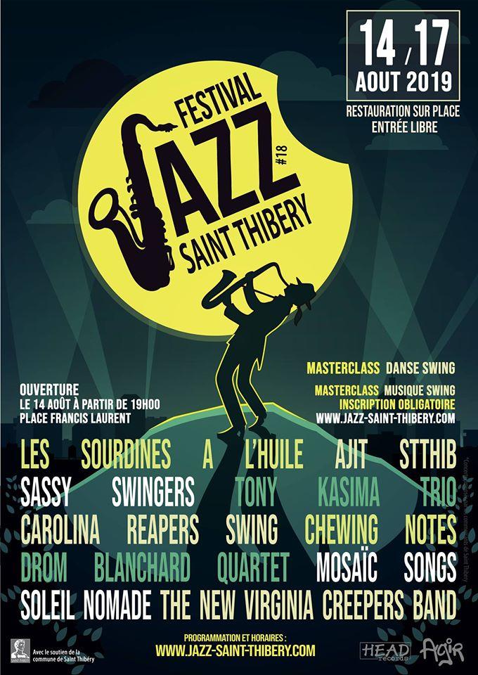 Festival de jazz de Saint-Thibéry 2019
